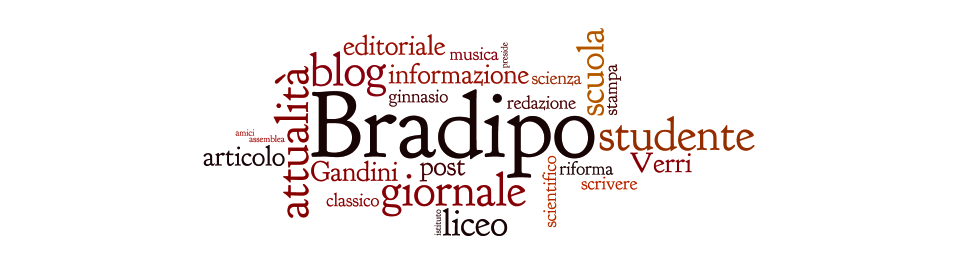 Le parole del Bradipo