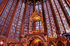 Paris-SainteChapelle-Interieur
